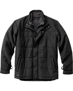 Dri Duck Men's Traverse Polyester Jacket - 3X & 4X, Black, hi-res