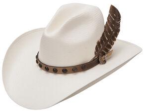 Stetson Men's Natural Broken Bow 10X Straw Hat, Natural, hi-res