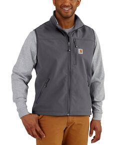 Carhartt Men's Denwood Vest - Big & Tall, Charcoal, hi-res