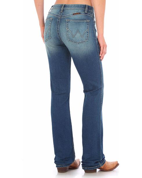 Wrangler Women's Indigo Ultimate Riding Q-Baby Jeans - Boot Cut , Indigo, hi-res