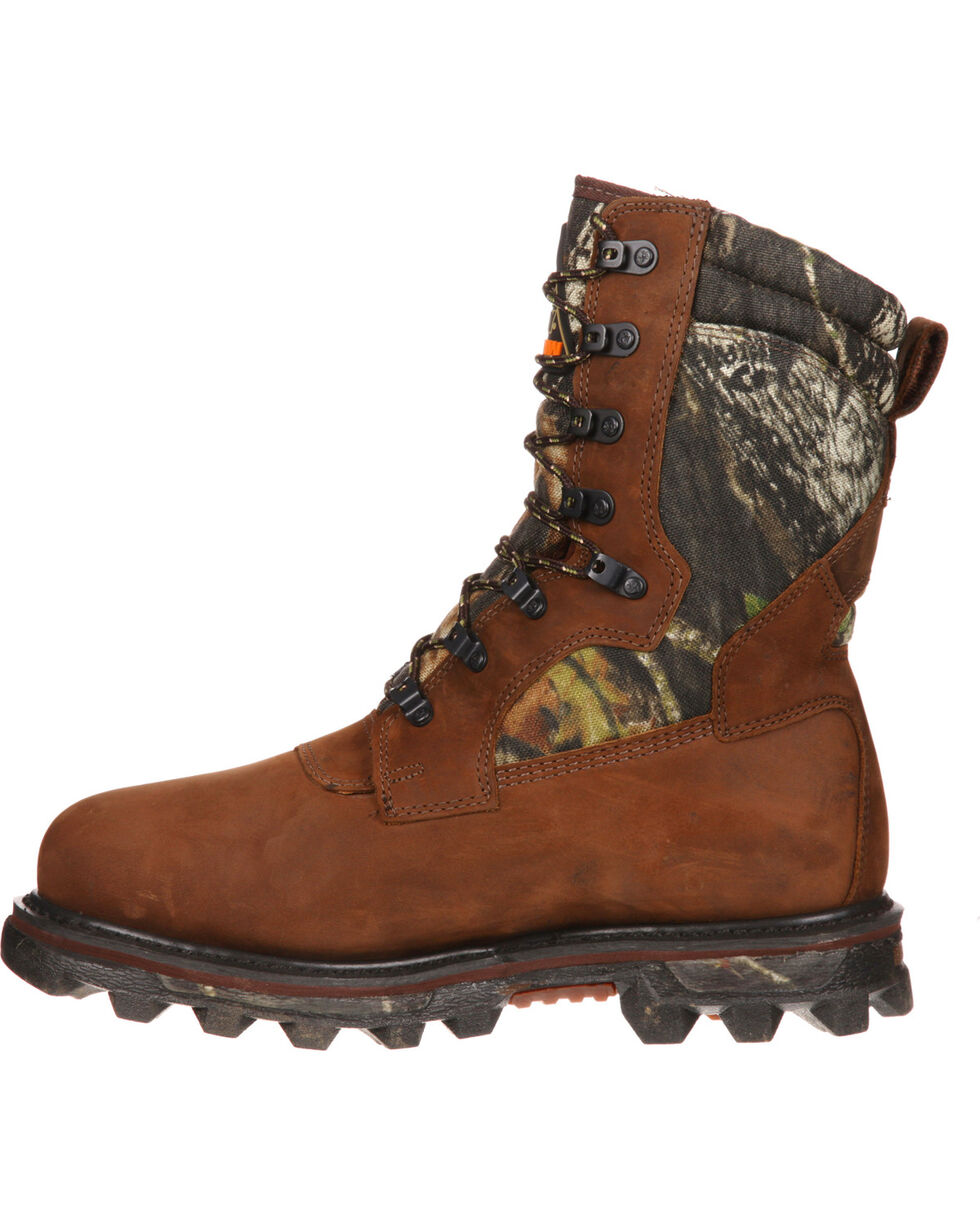 "Rocky 10"" Arctic BearClaw Gore-Tex Waterproof Insulated Outdoor Boots, Brown, hi-res"