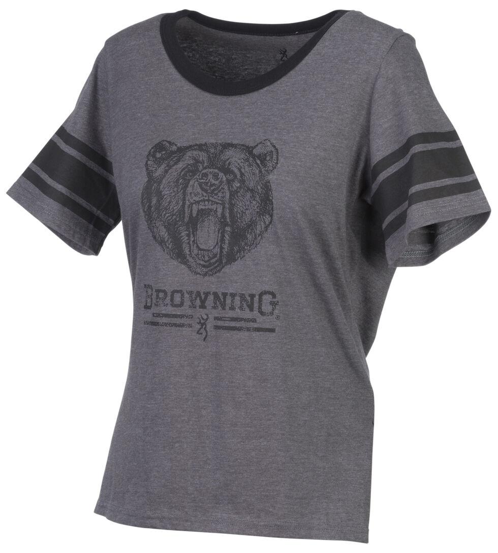 Browning Women's Gardenia Grey Short Sleeve Shirt, , hi-res