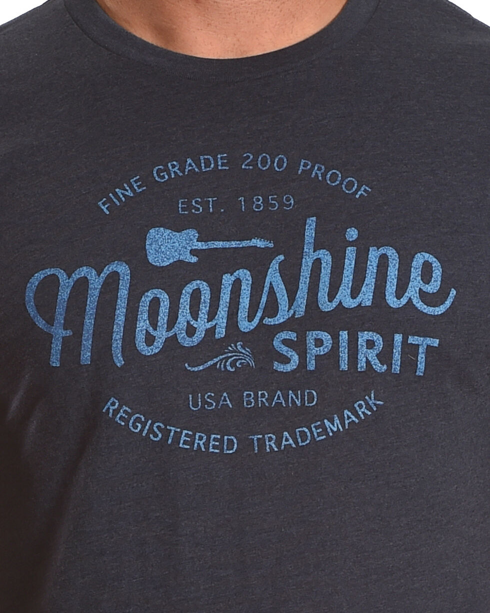 Moonshine Spirit Men's 200 Proof Short Sleeve T-Shirt, Navy, hi-res