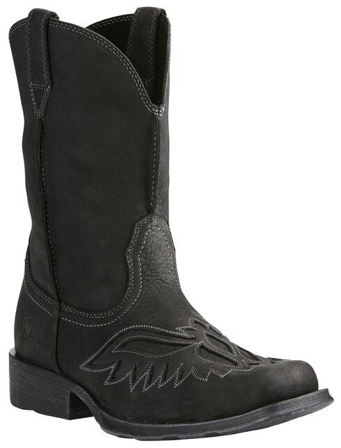 Ariat Men's Rambler® Renegade Boots - Square Toe, Black, hi-res