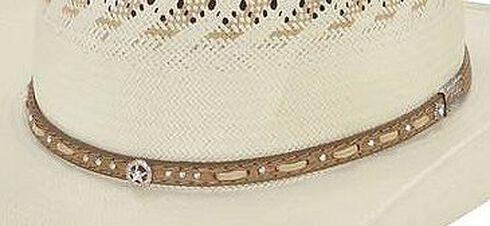 Larry Mahan 10X Granger Straw Cowboy Hat, Natural, hi-res