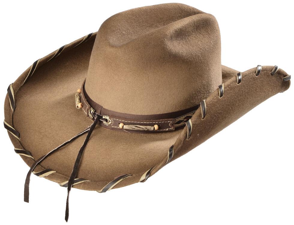 c283c3ddbeab39 Zoomed Image Bullhide Cheyenne Wool Cowgirl Hat, Sand, hi-res