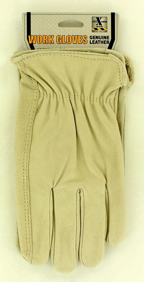 HDXtreme Pigskin Work Gloves, Natural, hi-res