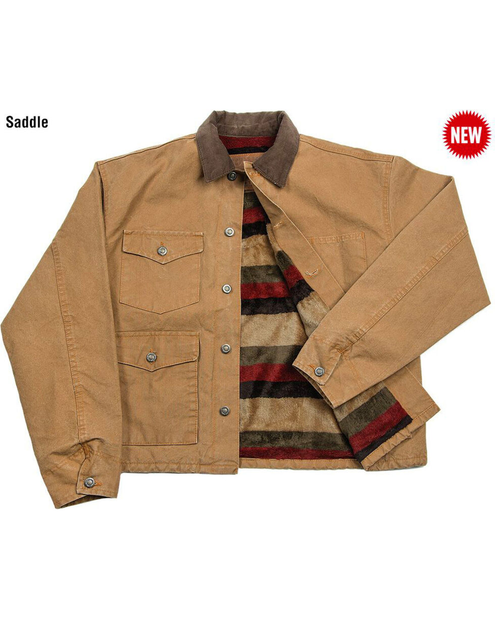 Schaefer Outfitter Men's Saddle Blanket Lined Vintage Brush Jacket , , hi-res