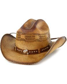 Bullhide Girls Natural Wheel Horse Western Hat  f33dc4481e14