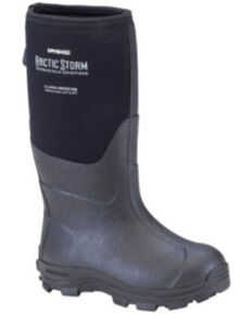 Dryshod Boys' Black Arctic Storm Rubber Boots - Soft Toe, Black, hi-res
