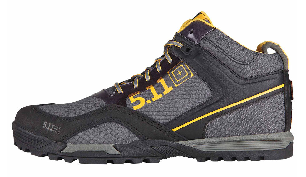 5.11 Tactical Men's Range Master Boots, Gun Smoke, hi-res