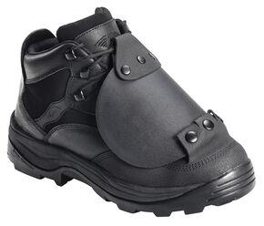Avenger Men's External Met Guard Work Boots - Steel Toe, Black, hi-res