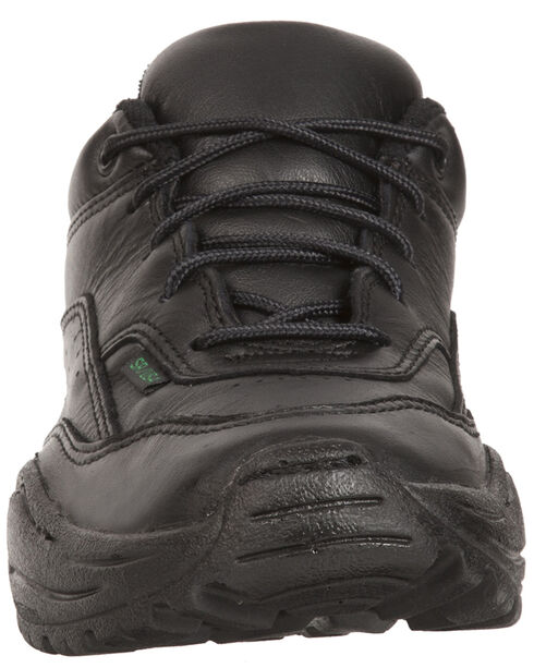 Rocky Women's 911 Athletic Oxford Duty Shoes - USPS Approved, Black, hi-res