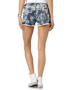 Miss Me Women's Indigo Do Or Dye Mid-Rise Shorts , Indigo, hi-res