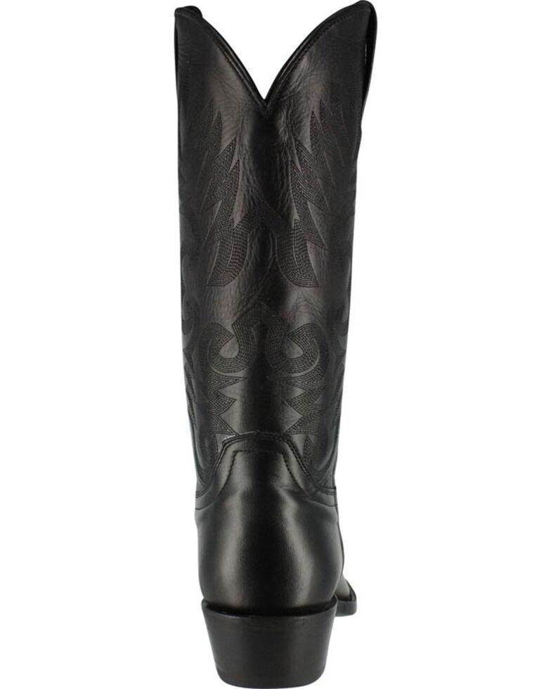 Cody James Mens Smooth Black Western Boots Medium Toe Sheplers