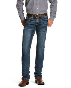 Ariat Men's M7 Silverton Coltrane Slim Straight Jeans , Blue, hi-res