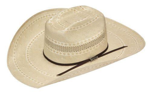 Twister 20X Shantung Straw Cowboy Hat, Tan, hi-res