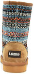 Lamo Footwear Kid's Juarez Boots - Round Toe, Light Blue, hi-res