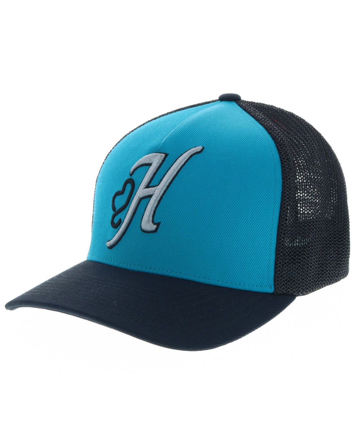 reputable site 1dd6f 83dce ... low price discount hooey mens skipper flexfit cap aqua hi res 03349  3935a 2f5dc 06e6a