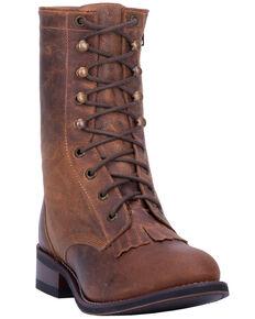 8ac2d710e141 Laredo Womens Sara Rose Lace-Up Western Boots - Round Toe