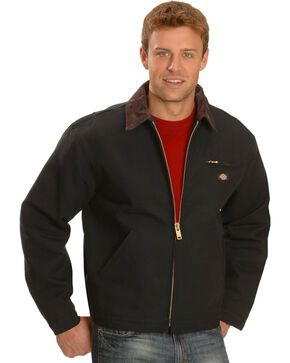 Dickies Blanket Lined Duck Jacket, Black, hi-res