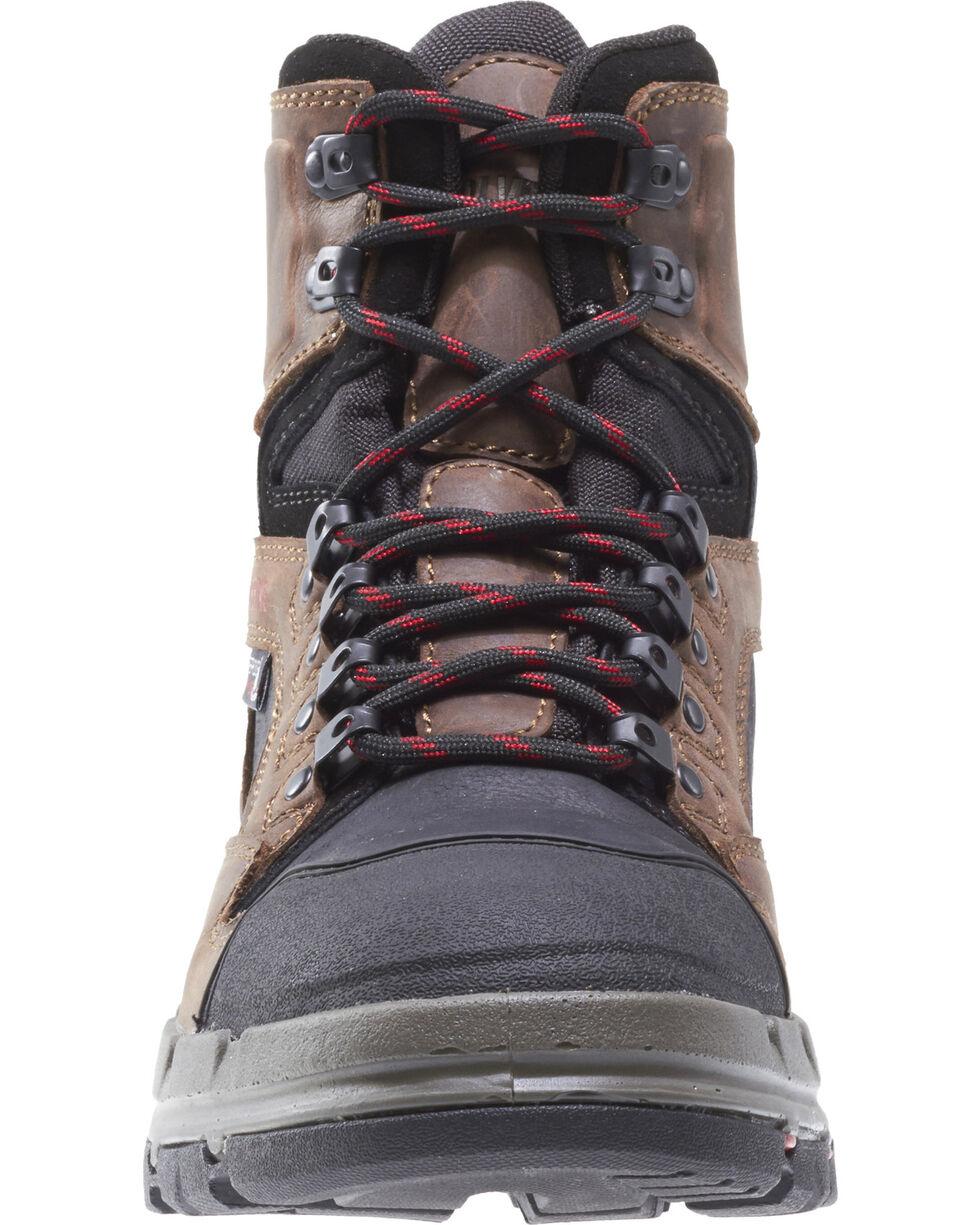 """Wolverine Men's Legend Durashocks 6"""" Work Boots - Composite Toe, Dark Brown, hi-res"""