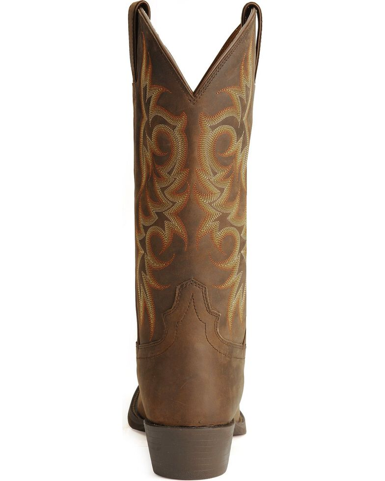 40426d556a3 Justin Stampede Western Apache Cowboy Boot - Med Toe