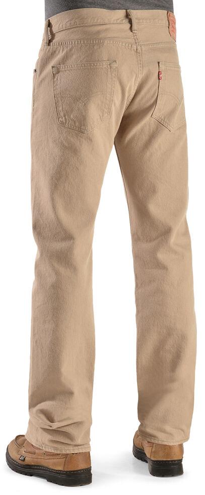 Levi's Men's 501 Timberwolf Original Fit Jeans , Lt Tan, hi-res