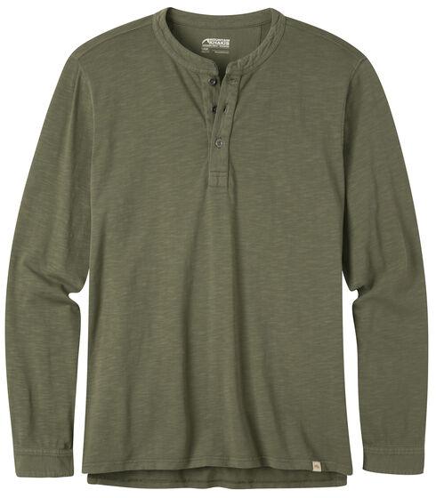 Mountain Khakis Men's Mixter Olive Henley Shirt, Olive, hi-res
