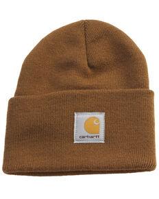 Carhartt Acrylic Stocking Cap, Brown, hi-res