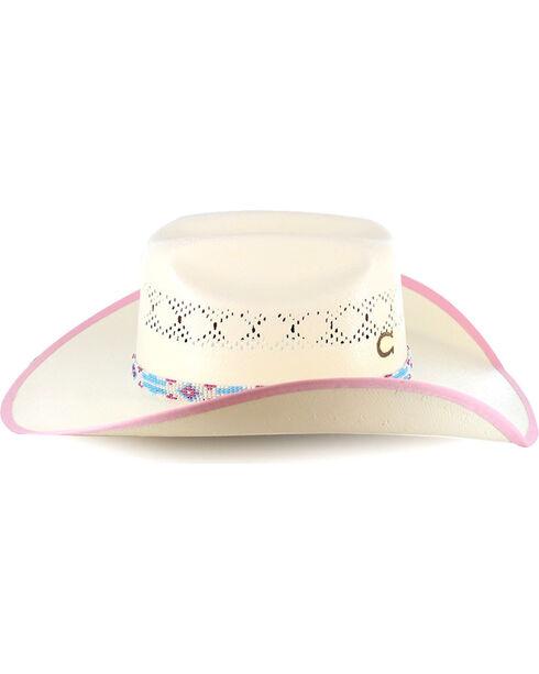 Charlie 1 Horse  Girls' Gracie Hat, Natural, hi-res