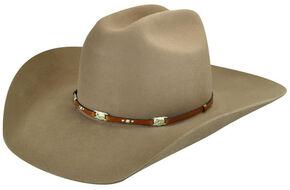 Bailey Mens Jericho 3X Wool Felt Cowboy Hat 1d9b06eb607b