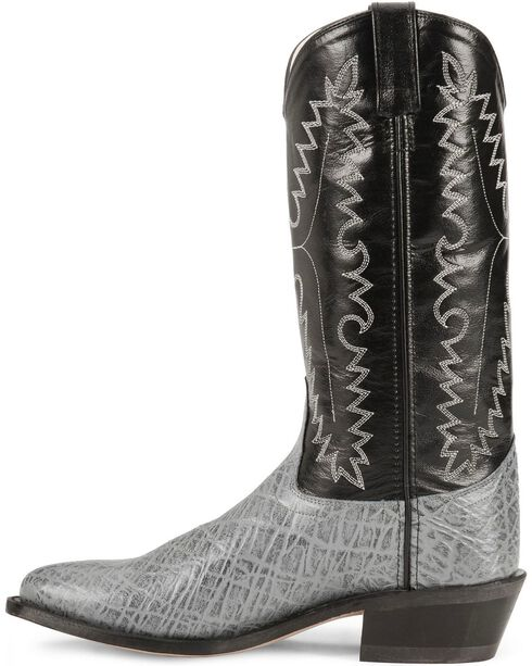 Old West Elephant Print Cowboy Boots, , hi-res