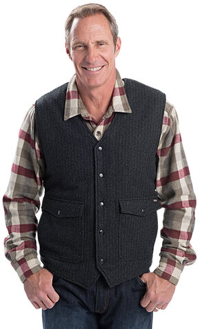Woolrich Men's Teton Vest, Black, hi-res