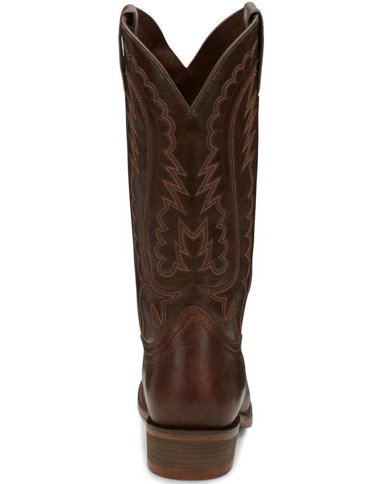 Nocona Men's Jackpot Brown Western Boots - Round Toe, Brown, hi-res