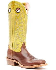 Tony Lama Men's Fairview Western Boots - Wide Square Toe, Green, hi-res