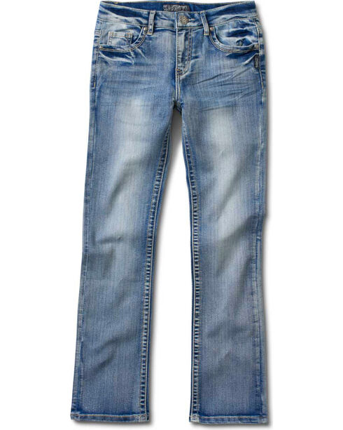 Silver Girls' Tammy Bootcut Jeans - 4-6X, Denim, hi-res
