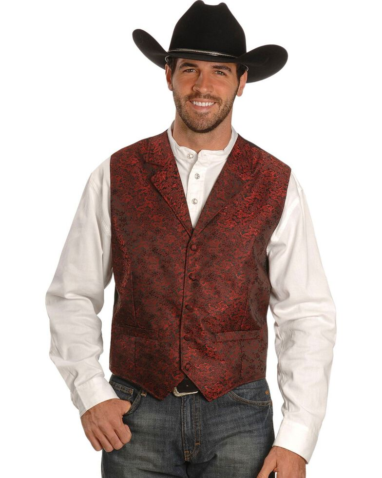 Rangewear by Scully Dragon Vest - Big & Tall, Red, hi-res