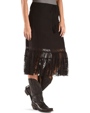 Angel Premium Women's Davis Skirt , Black, hi-res
