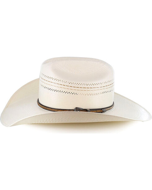 Larry Mahan Men's 10X Straw Hat, Natural, hi-res