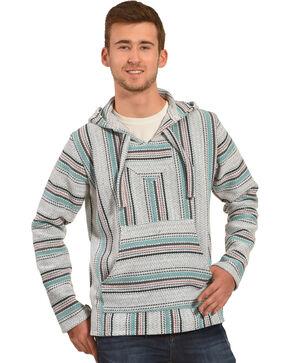 Senor Lopez Men's Teal Baja Pullover, Teal, hi-res