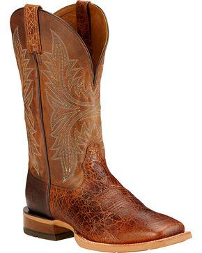 Ariat Cowhand Cowboy Boots - Square Toe , Clay, hi-res
