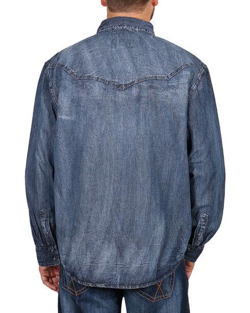 Moonshine Spirit Men's Black Magic Long Sleeve Shirt, Black, hi-res
