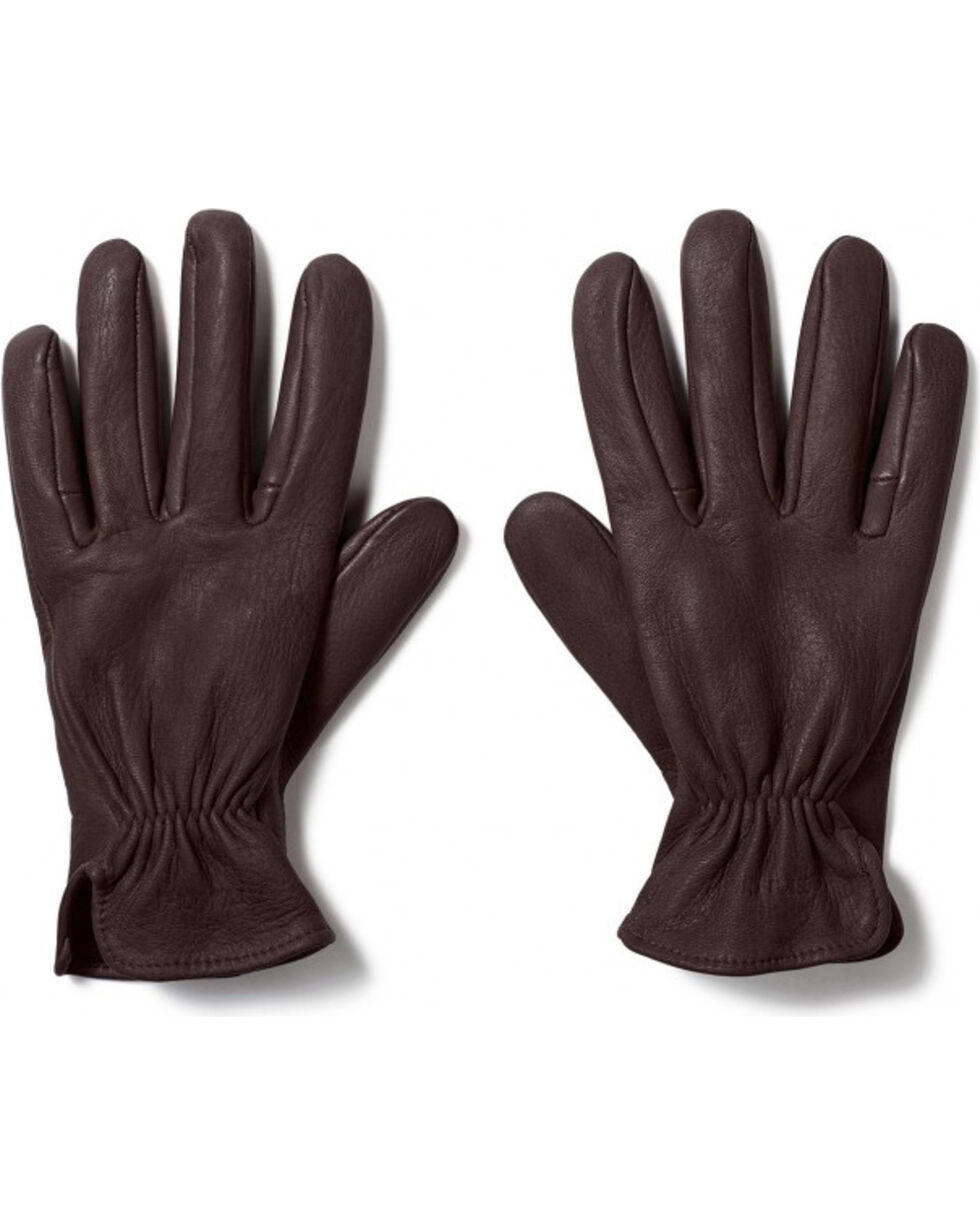 Filson Men's Original Deerskin Gloves, Brown, hi-res