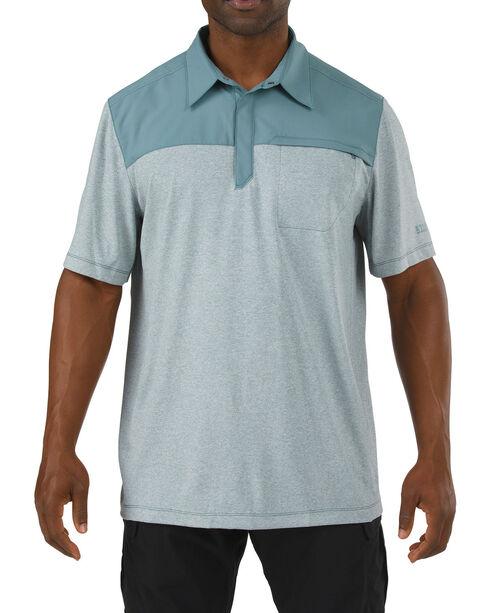 5.11 Tactical Rapid Response Performance Polo Shirt, Grey, hi-res