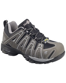 Nautilus Men's Grey Lightweight Athletic Work Shoes - Soft Toe , Grey, hi-res