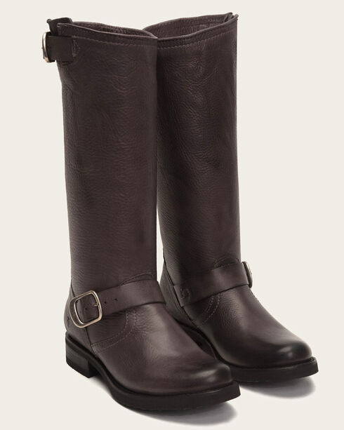 Frye Women's Veronica Slouch 2 Riding Boots , Dark Grey, hi-res