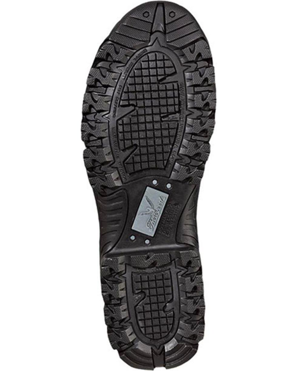 """Thorogood Men's Deuce 6"""" Waterproof Side Zip Work Boots, Black, hi-res"""