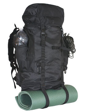 Fox Outdoor Small Rio Grande Pack, Black, hi-res