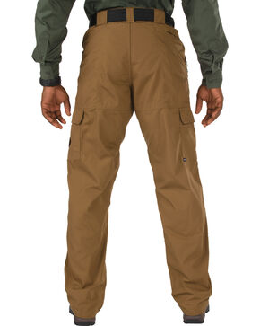 5.11 Taclite Poly/Cotton Ripstop Pants - Sizes 46-54 (Unhemmed), Brown, hi-res